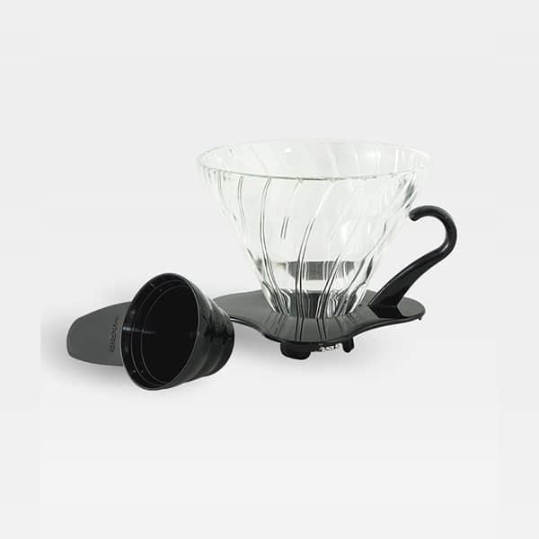 Hario Glaskaffeefilter schwarz